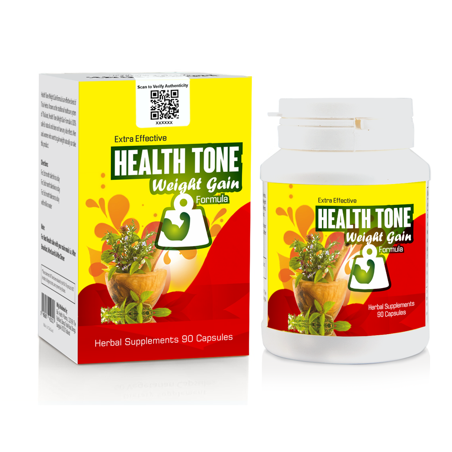 Extra Effective Health tone Weight Gain Capsule